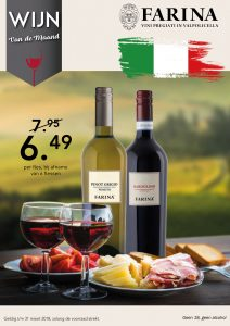 Poster Farina- Grigio en Bardolino